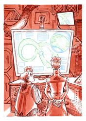 Projet Asimov - final illustration by TessCas