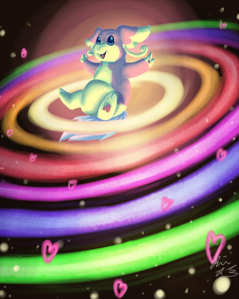 2ª Fase - Poké-Estilista: Colorful Party Audino_used_heal_pulse_by_pyrofishies-d3h29lr