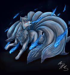 Ninetails used WILL-O-WISP