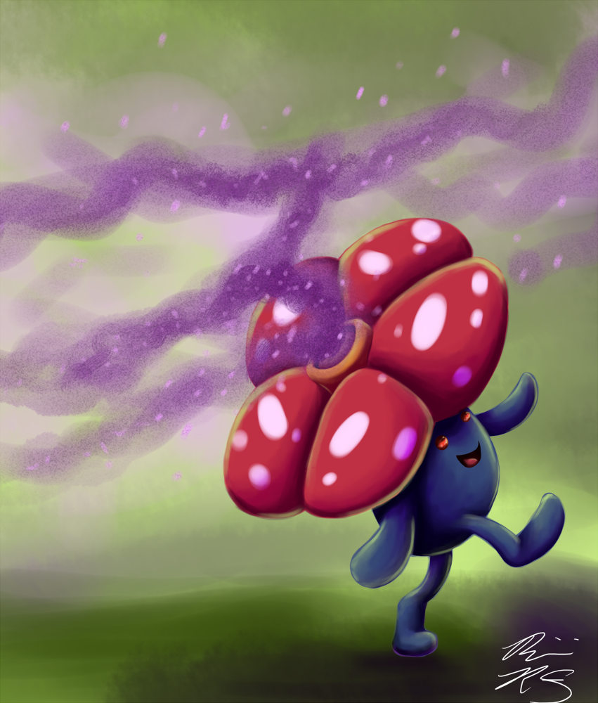 Vileplume, artist: Pyrofishies, rights: TPCi