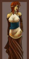 Avani's Winter Formal Dress