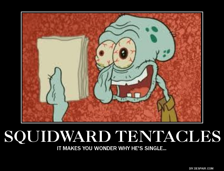 Squidward Tentacles by RaintheEgyptianWolf on DeviantArt