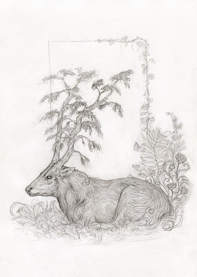 treedeer by Catakumba