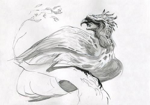Harpy - inktober