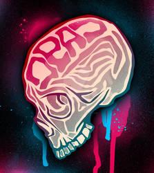 Quickie skull vector