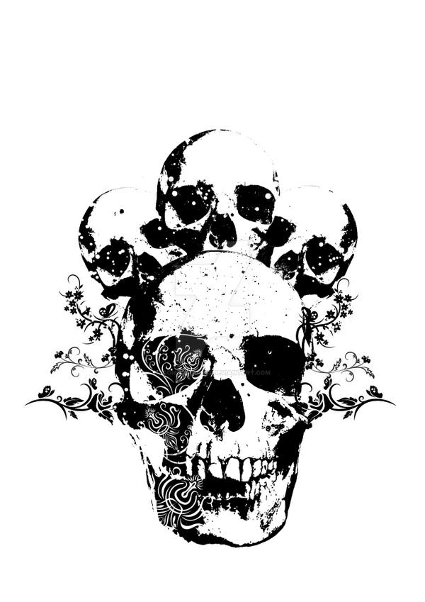 Skull T-shirt Design by Icono-Graphic