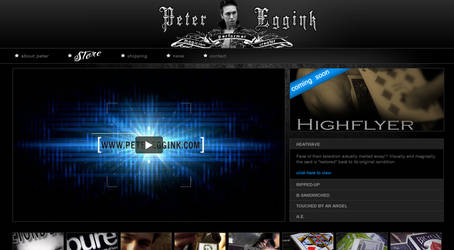 www.petereggink.com by 9780design