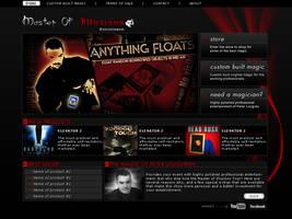 www.masterofillusions.ca by 9780design
