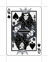 Queen of Spades by 9780design