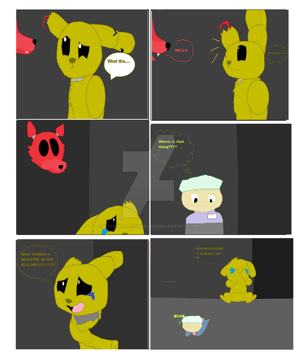 Springtrap comic by fireraccoon2468 on deviantart