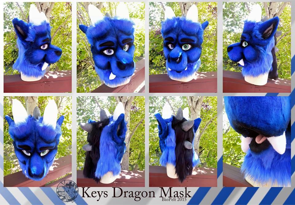 Keys Dragon Headshot by Majcen007