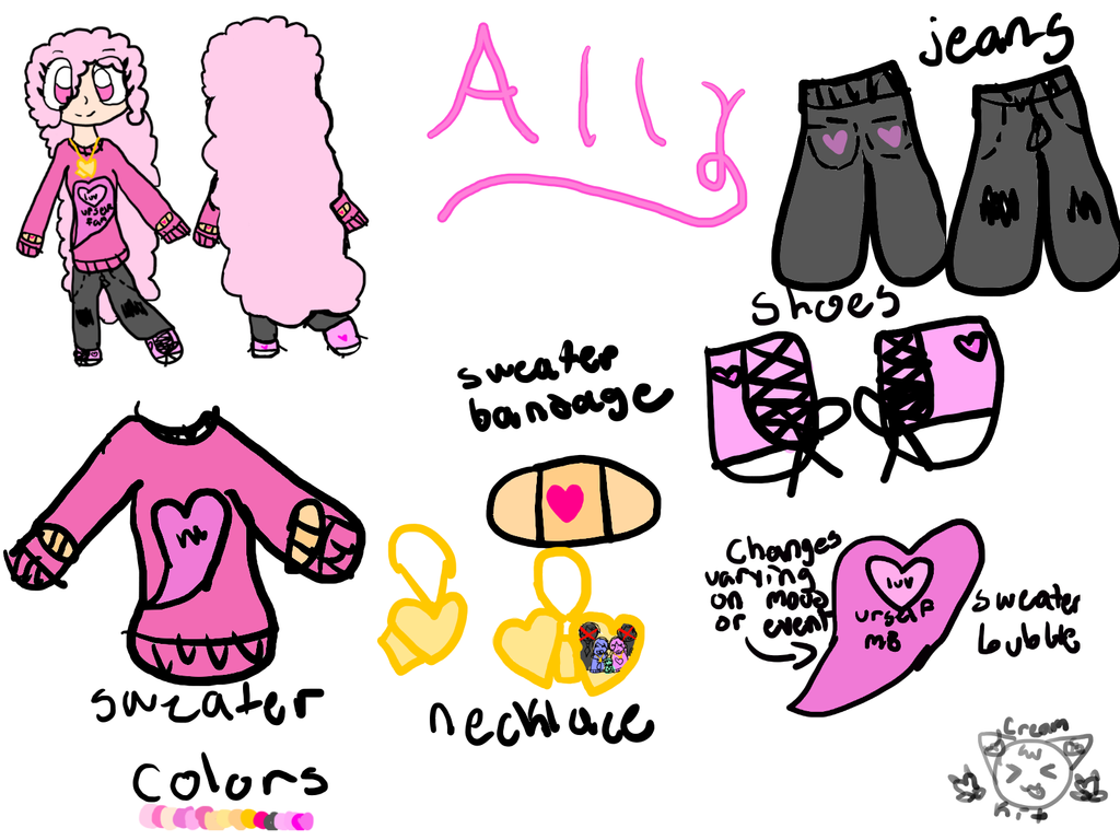 look its this lil hecker - Ally Ref Sheet by DerpyHooves6121