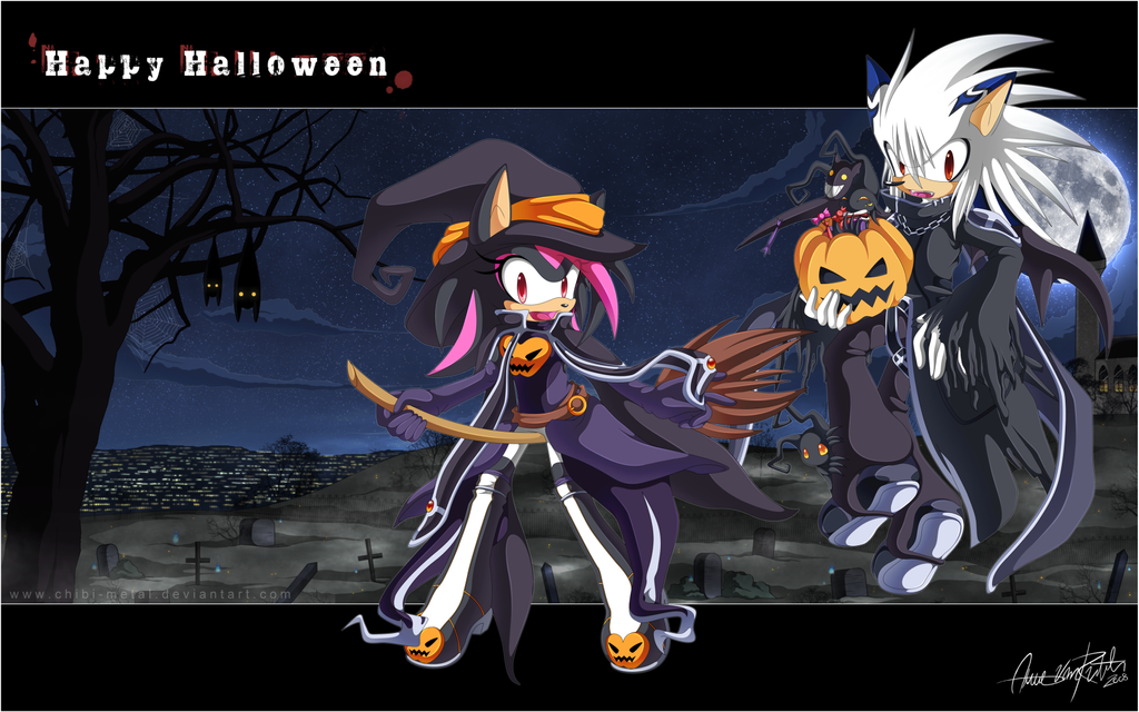 Happy Halloween 2008 by Chibi-Nuffie