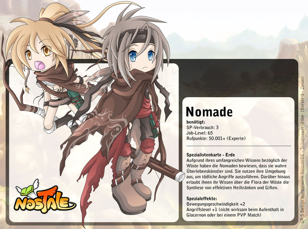 Nostale: Nomad by NuffieArts