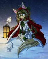 Snowbird - Secret Santa by NuffieArts