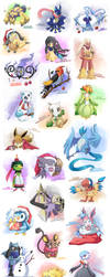 PokedDeXY Challenge 2013 by NuffieArts