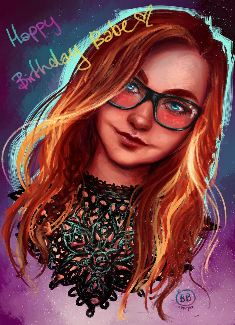 Birthdaygirl by Zpurplex
