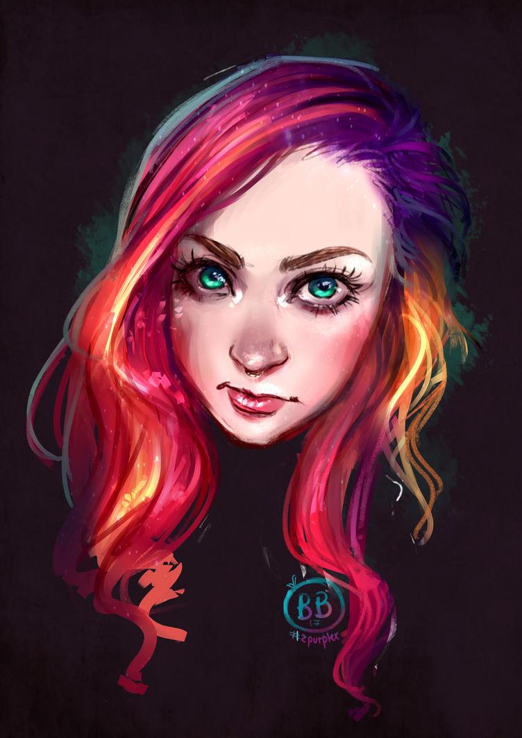 Unicorn hair by Zpurplex