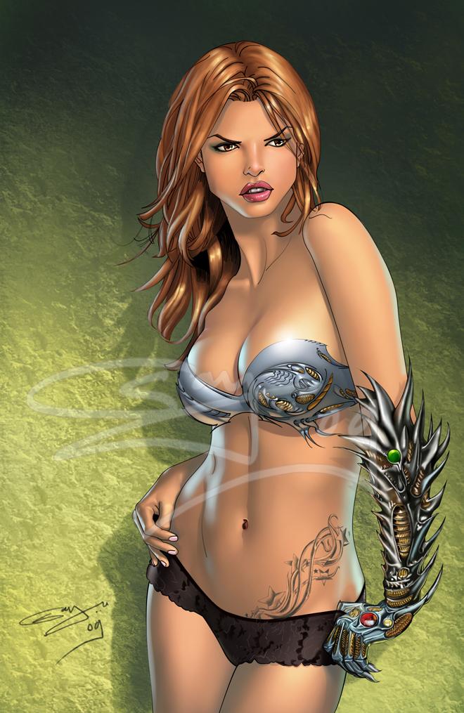 witchblade by sanjun