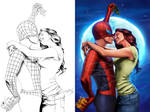 spiderman and mj