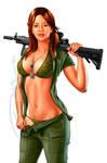 army babe