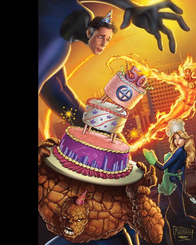 Fantastic Four 50th by sanjun