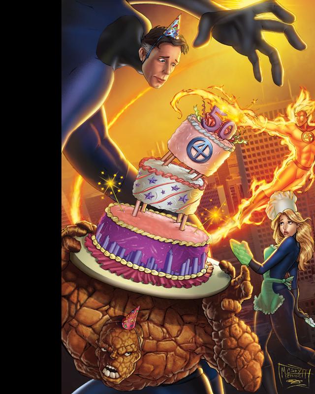 Fantastic Four 50th by sanjun