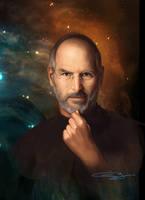 Steve Jobs by sanjun