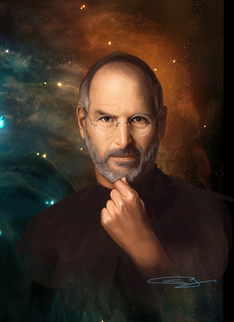 steve jobs by sanjun on deviantart