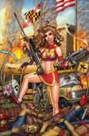 Zombies vs Cheerleaders #5 cover