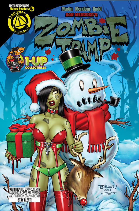 Zombie Tramp 5 variant cover by sanjun
