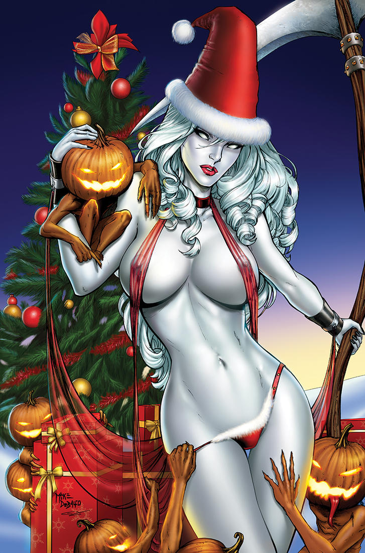 Lady Death-Christmas by sanjun