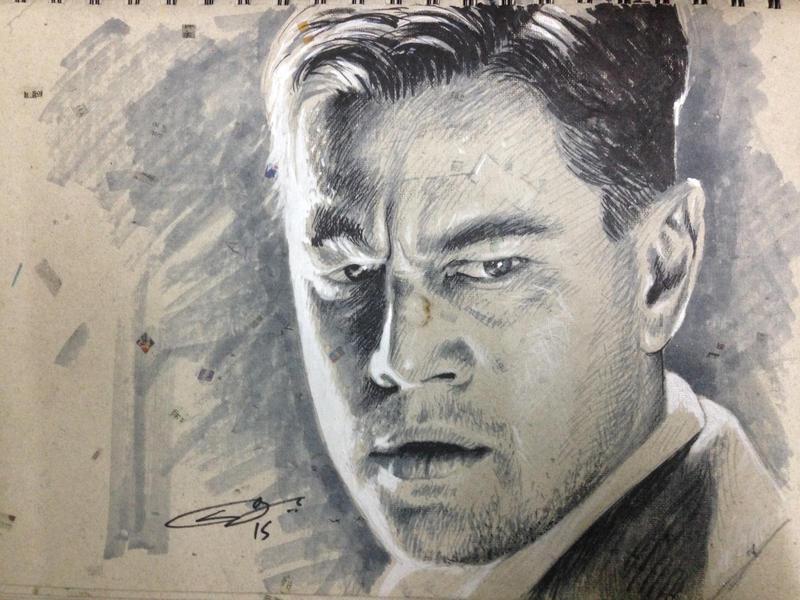 Leonardo DiCaprio by sanjun