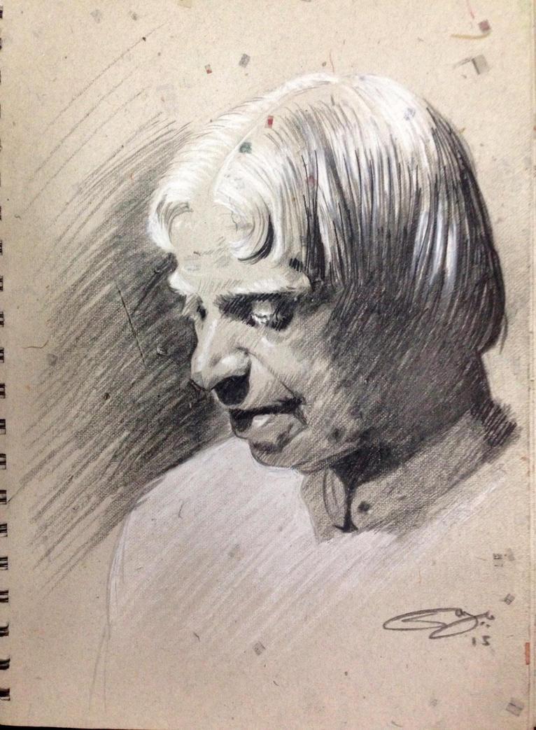 Dr. APJ Abdul Kalam Sir. by sanjun