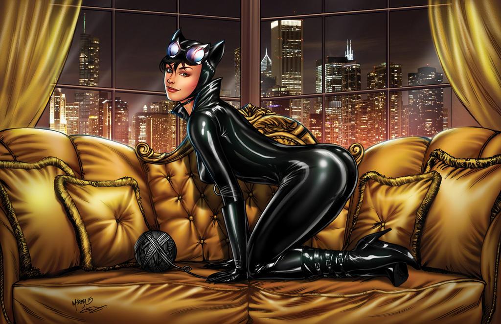 Catwoman by sanjun