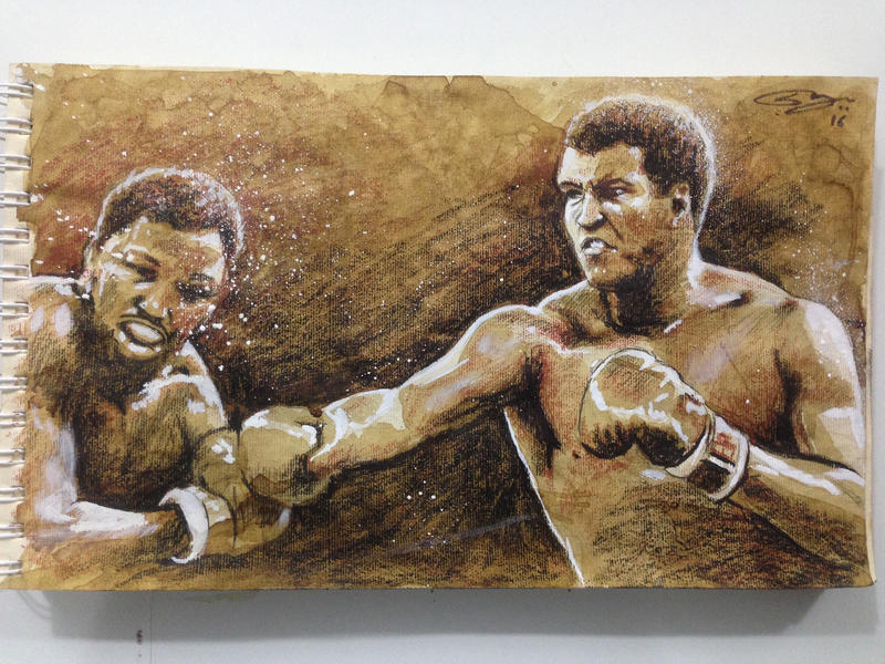 The Greatest Muhammad Ali by sanjun