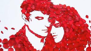 valentine rose by sanjun