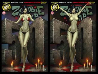 Zombie Tramp 50, Mike DeBalfo Edition. by sanjun