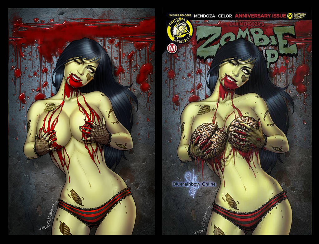 Zombie Tramp #50  Sorah Shung Edition by sanjun