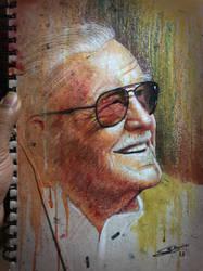 Stan Lee by sanjun