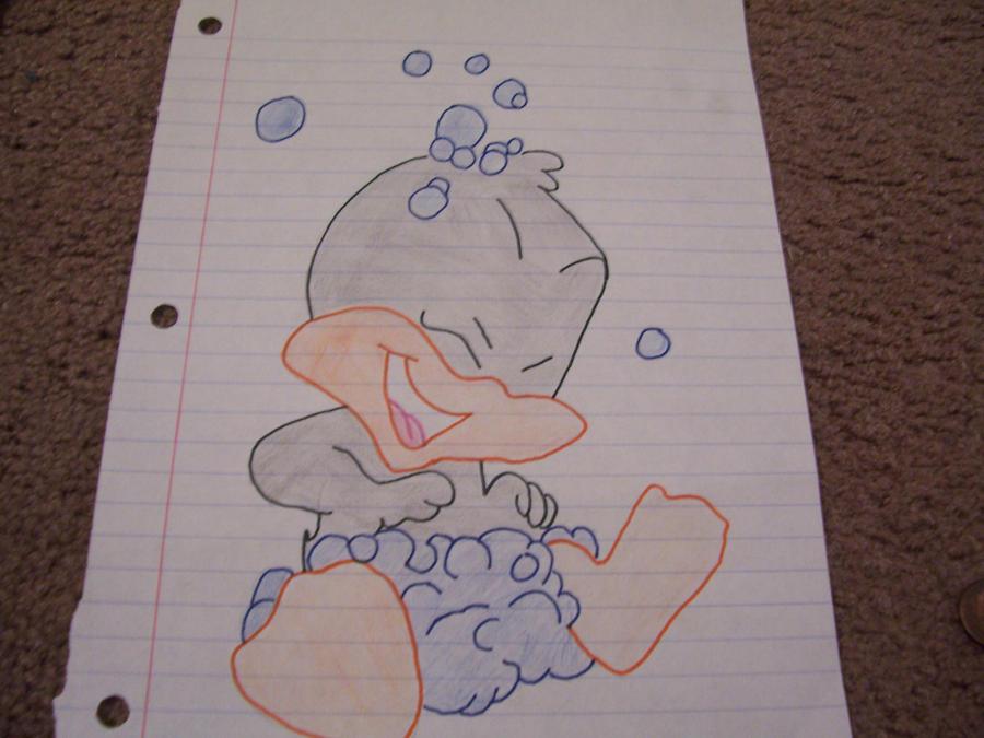 Baby Daffy duck by XXflamestormXX on DeviantArt