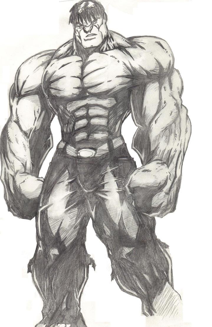 The Incredible ... The Incredible Hulk Sketch