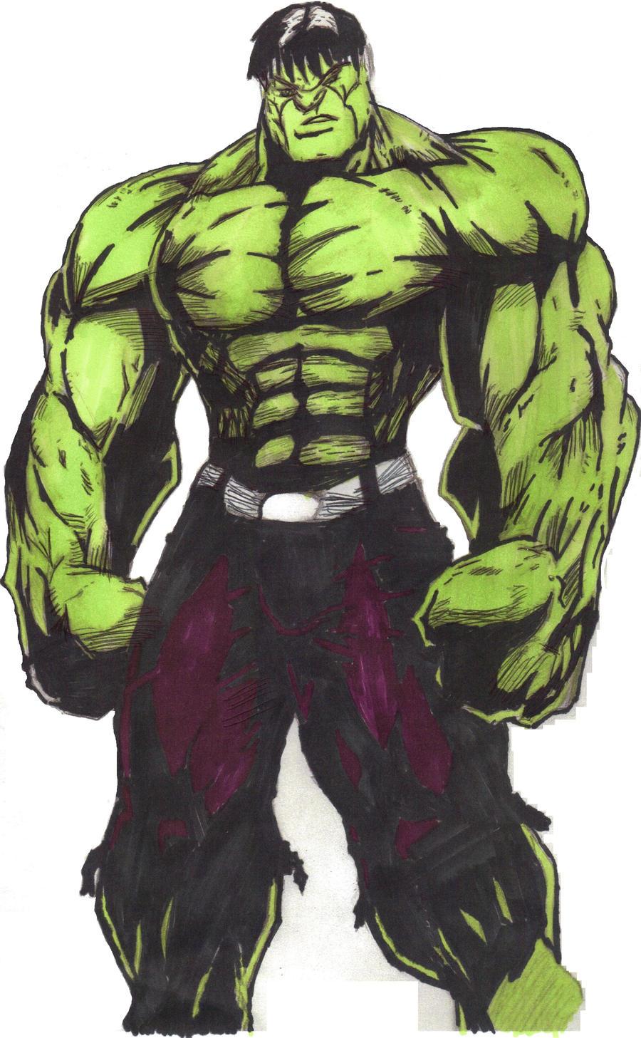 incredible hulk art gallery - photo #22