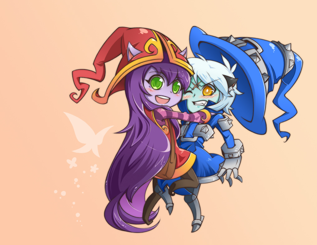 Lulu and Veigar by yan531