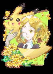 Yellow Diamond. Pikachu.