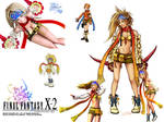 Rikku Final Fantasy collage
