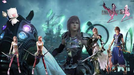 Final Fantasy XIII-2 Collage by EternalLightEngine