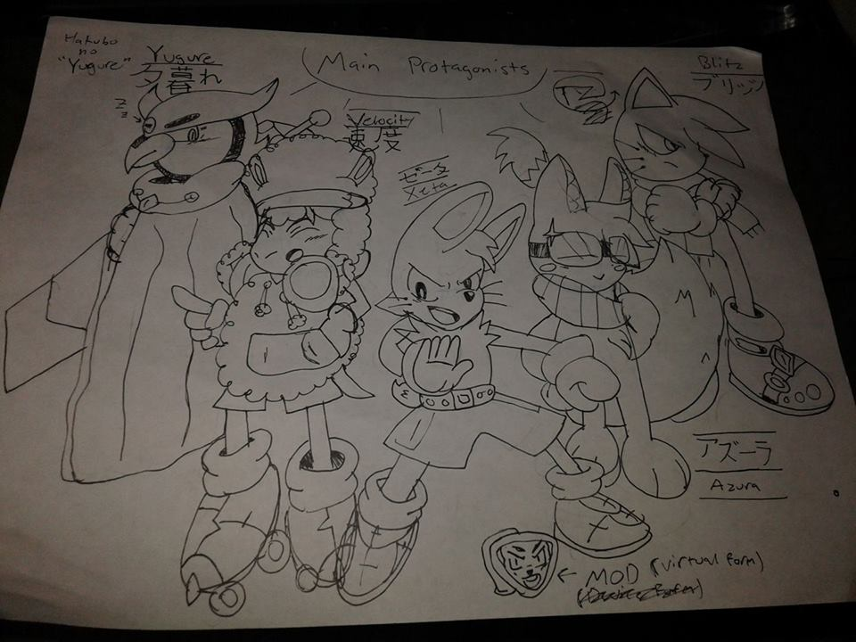 Concept art for future comic that's in development by SynchroProdigy4300