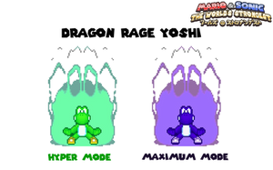 Dragon Rage Yoshi - TWS Concept #2
