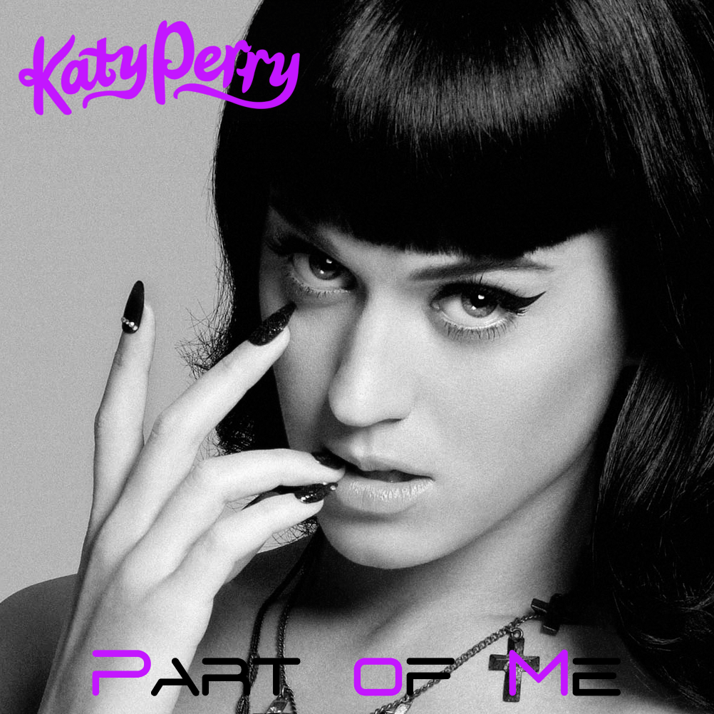Part Of Art : Katy perry part of me alternative cover by